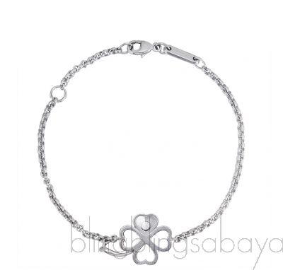Happy Diamond Clover Bracelet
