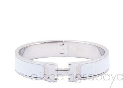 Clic Clac White H Bracelet PM
