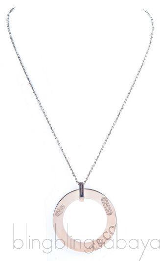 1837 Round Pendant Necklace