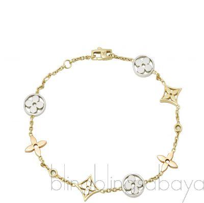 Monogram Idylle 3 Golds Bracelet