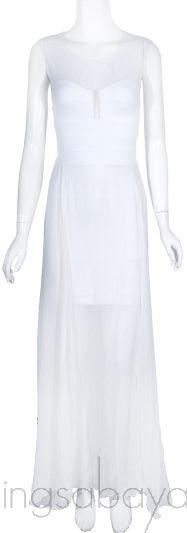White Alai Dress