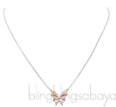Mini Flutter Bat-Moth Pendant Neck.