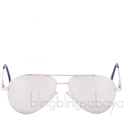 Gold 0740 Aviator Sunglasses