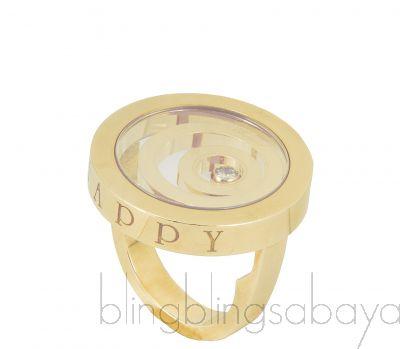 Happy Spirit Gold & Diamond Ring