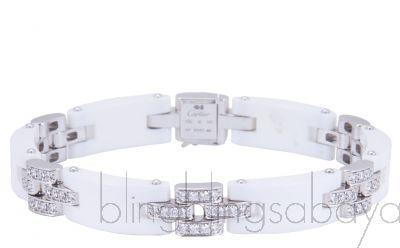 Maillon Panthere Ceramic Bracelet