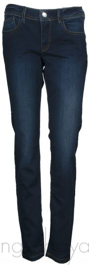 Floral Embroidered Blue Jeans