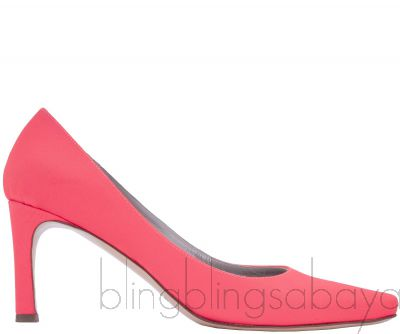 Neon Coral Shoes