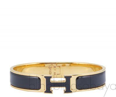 Clic Clac Black H Bracelet