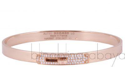 Rose Gold Kelly Diamond LG Bracelet