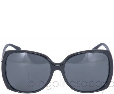 Black Oversized Sunglasses 5216