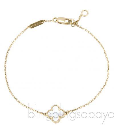 Sweet Alhambra Clover Mini  Bracelet