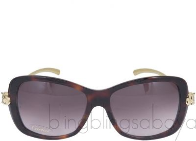 Panthere Wild De Cartier Sunglasses