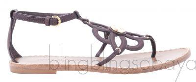 Fidji Thong Leather Sandals