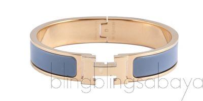 Clic Clac PM Bracelet H Ardoise