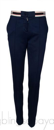 Navy Blue Stretch Trouser