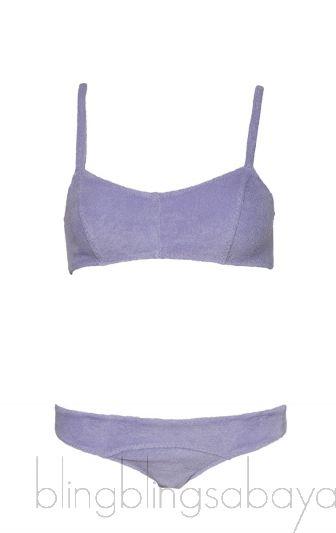 Lilac Stretch Bikini & Top