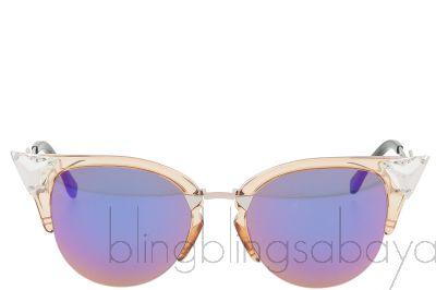 FF0041/s Peach Cat Eye Sunglasses