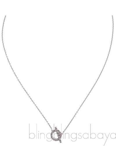 Finesse Diamond Pendant Necklace