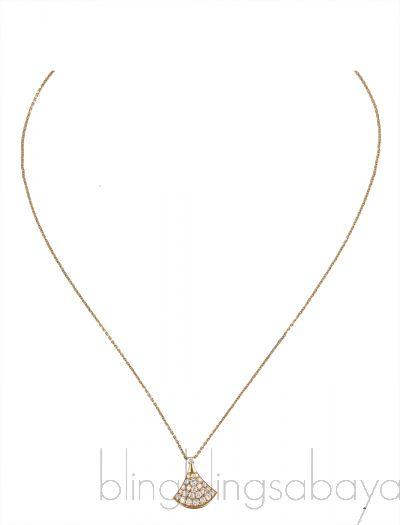 Diva's Dream Diamond YG Necklace