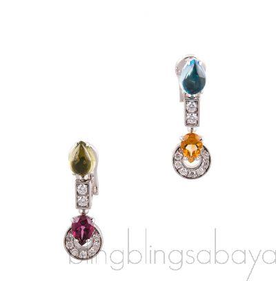 Allegra White Gold Earring