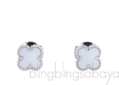 Sweet Alhambra WG Earrings