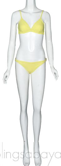 Bright Yellow Hampton and Trinity Bikini