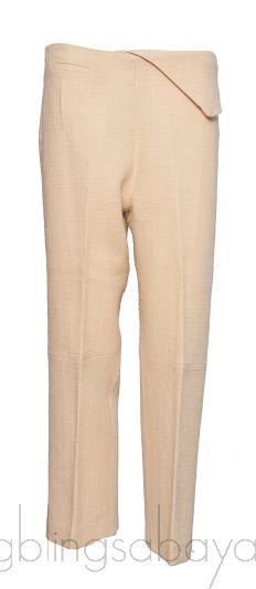 Cropped Wool-Blend Straight-Leg Pants