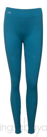 Blue Green Stretch Leggings
