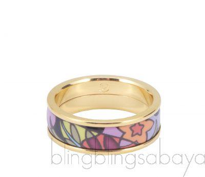 Paradise Sunlight Printed Ring
