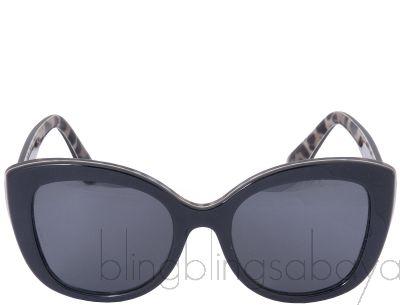 DG4233 Black Leopard Sunglasses