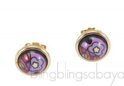Paradise Sunlight Cabochon Earrings