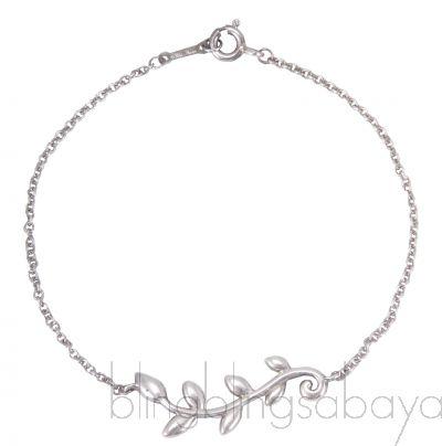 Olive Leaf Vine Bracelet*