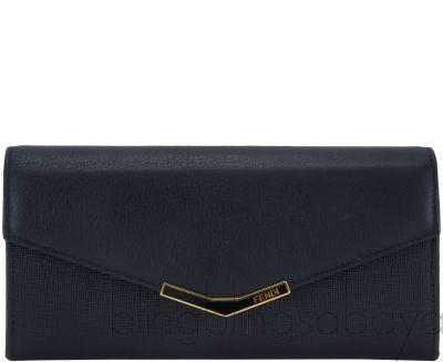 2Jours Black Saffiano Wallet*