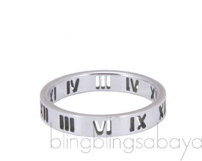 Atlas Sterling Silver Ring