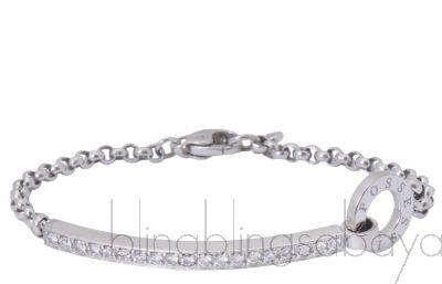Possession White Gold Diamond Bracelet